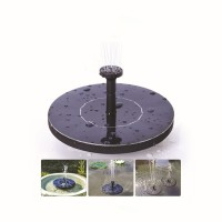 Solar Water Pump with 1.4 W Solar Panel
