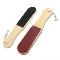 Foot File with Wooden Handle