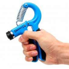 Adjustable Hand Grip Blue
